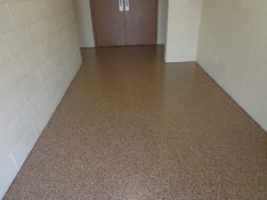 epoxy coated floor